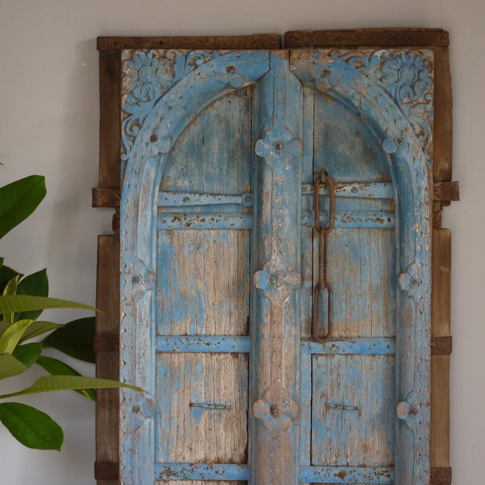 Arched Blue Panel