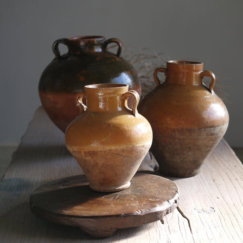 Small Terracotta Urns