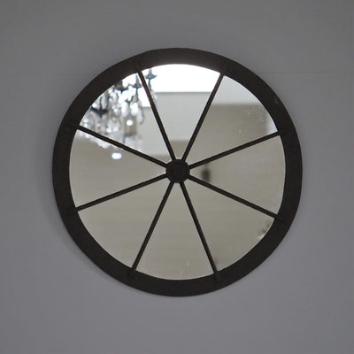 French Industrial Mirror