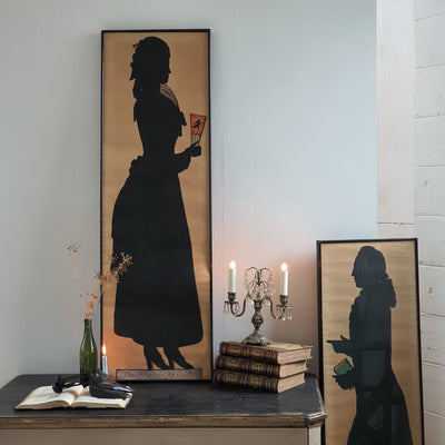 Folk Art Silhouettes, Antiques, Byron Bay