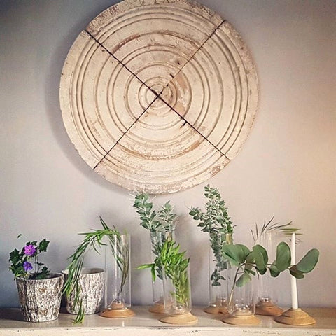 Weathered Wooden Mandala