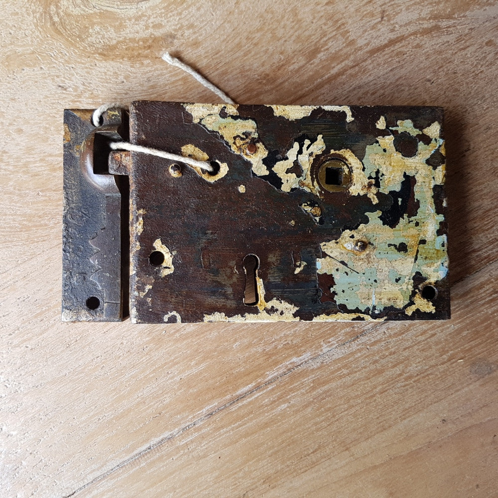 B. Lock & Strike Plate (no key)