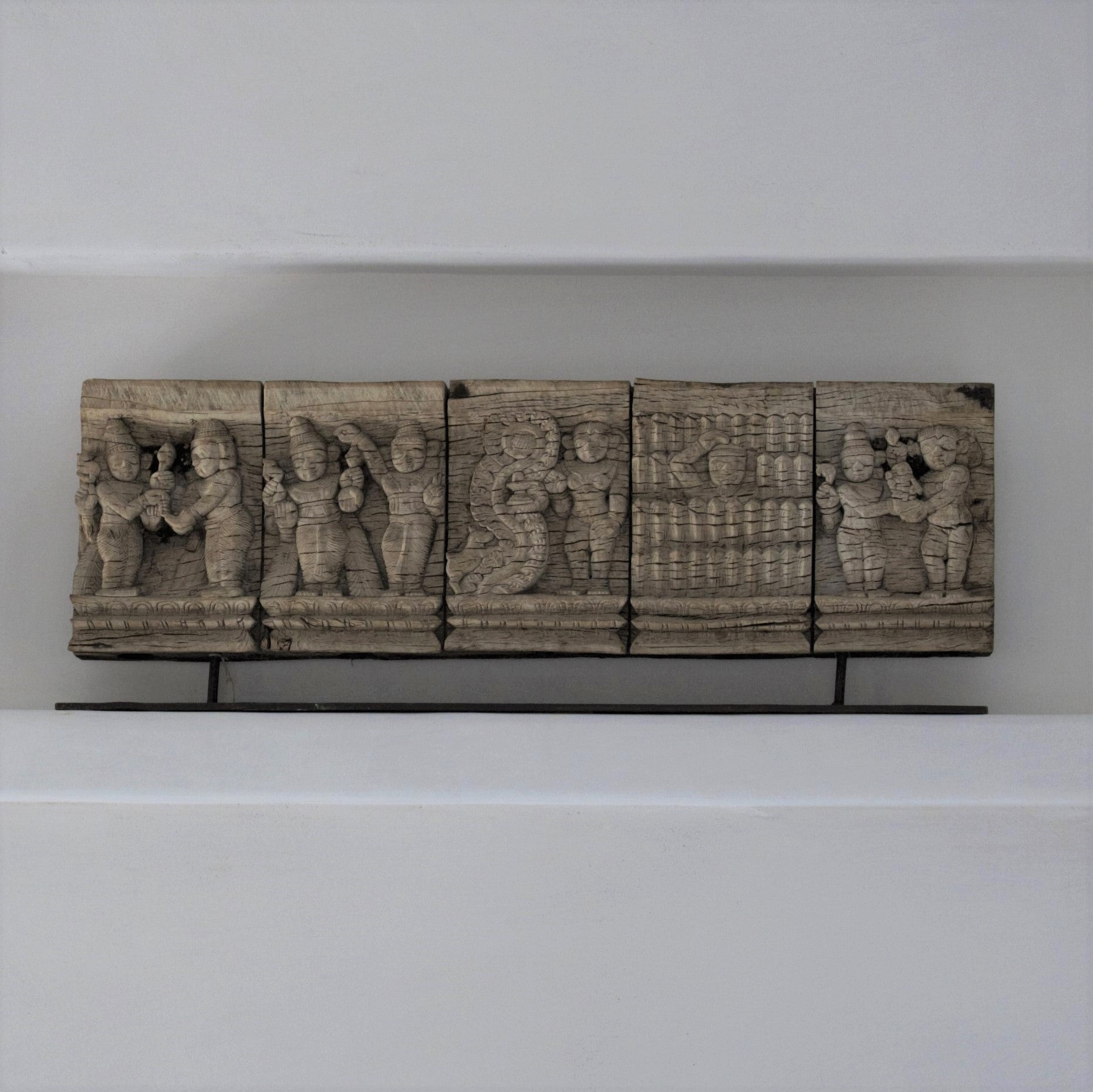 Carved Timber Frieze