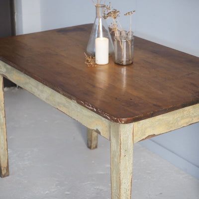 Vintage Timber Table