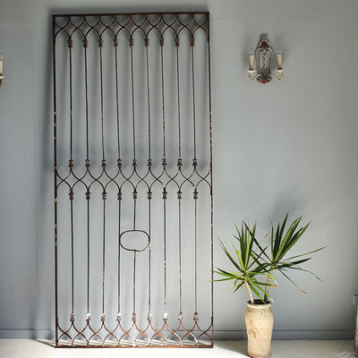 XL Moroccan Iron Grille