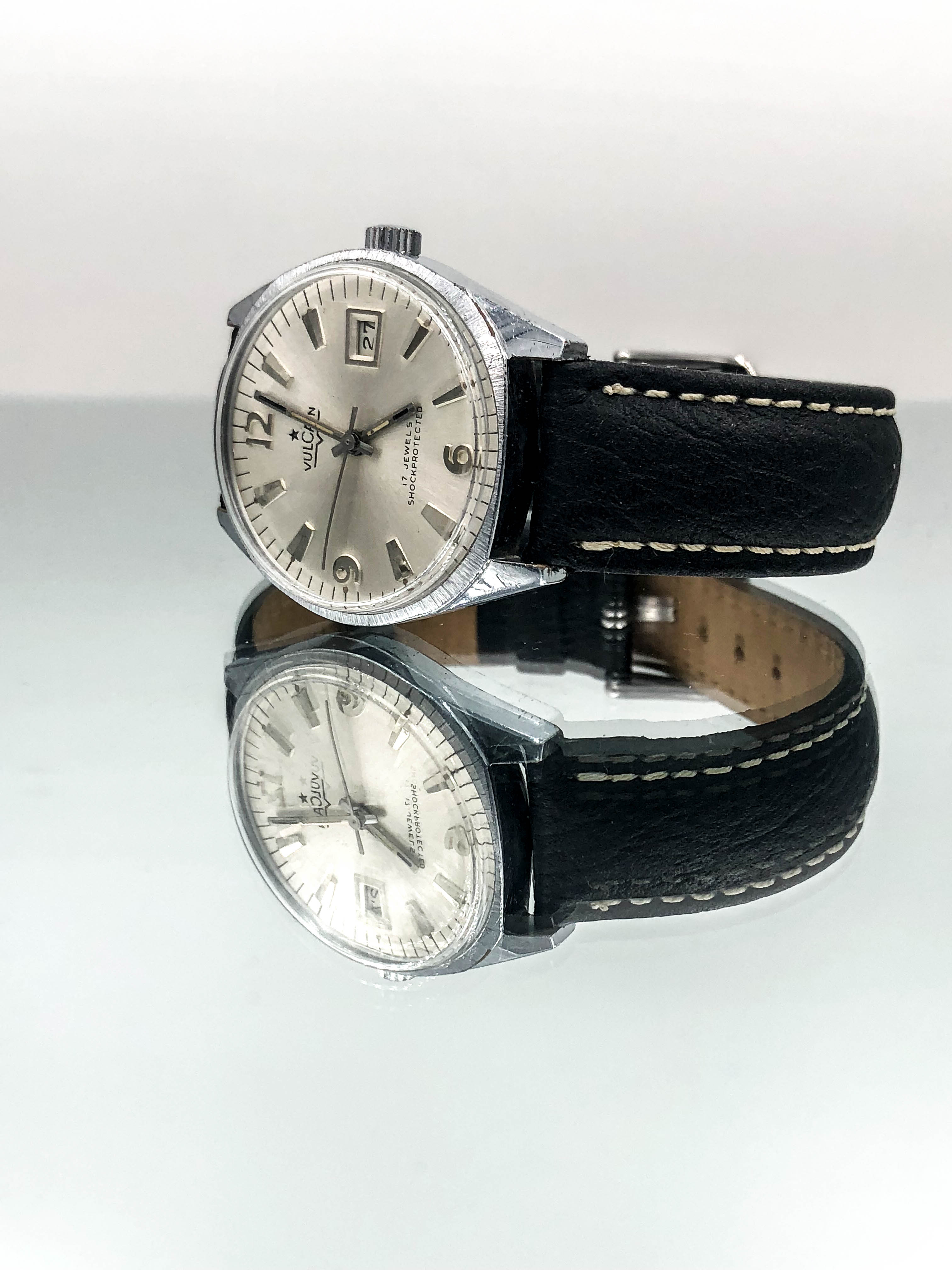 Vulcain Vintage Presidents Style With Date Movement r7588b