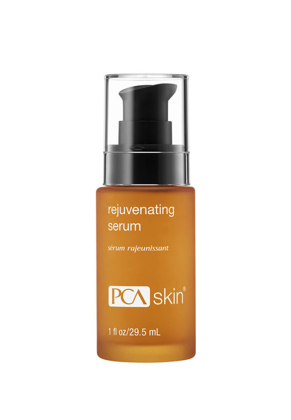 Pump bottle of PCA SKIN Rejuvenating serum