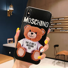 Load image into Gallery viewer, Apple iPhone Moschino case