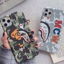 Load and play video in Gallery viewer, Apple iPhone A Bathing Ape Cover