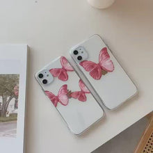 Load and play video in Gallery viewer, Butterfly Iphone Case ( 2 Different Type's)