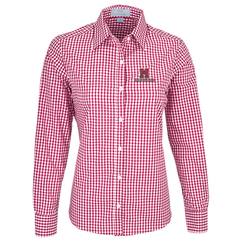 Vantage Women's Gingham Check Shirt
