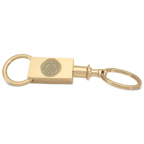 TWO SECTION KEYRING W/MU SEAL
