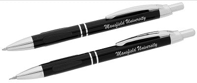 VIENNA PEN/PENCIL SET WITH MU LOGO