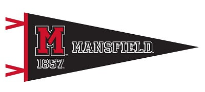 NEW ATHLETIC LOGO 12 x 30 PENNANT