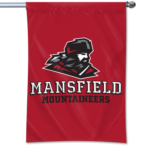 "DURAWAVE HOME BANNER MANSFIELD MOUNTAINEER 40"" x 27"""