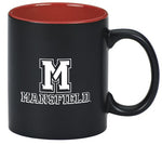 BLACK/RED ATHLETIC M MUG 11 OZ