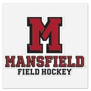 Athletic M Field Hockey Decal