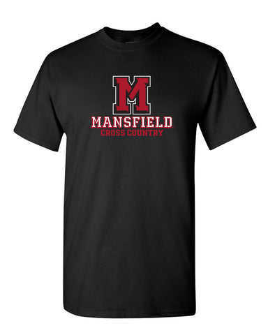 ATHLETIC M CROSS COUNTRY TEE