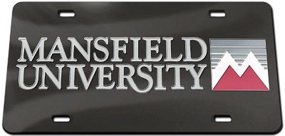 MU LOGO FRONT LICENSE PLATE