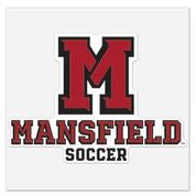 MU SOCCER LOGO DECAL