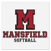 Athletic M Softball Decal
