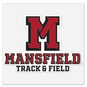 ATHLETIC M TRACK AND FIELD DECAL