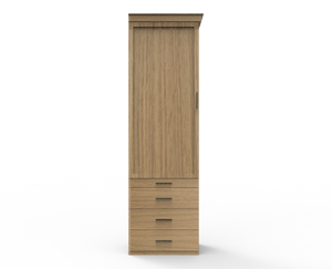 Wardrobe Drawer Pier - Vertical