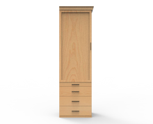 Load image into Gallery viewer, Wardrobe Drawer Pier - Vertical