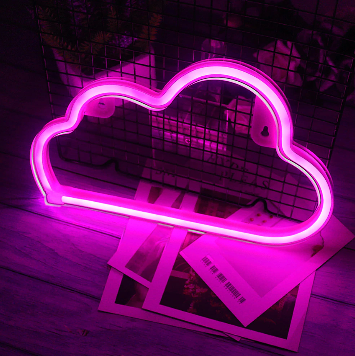 Pink Cloud Neon LED Wall Light