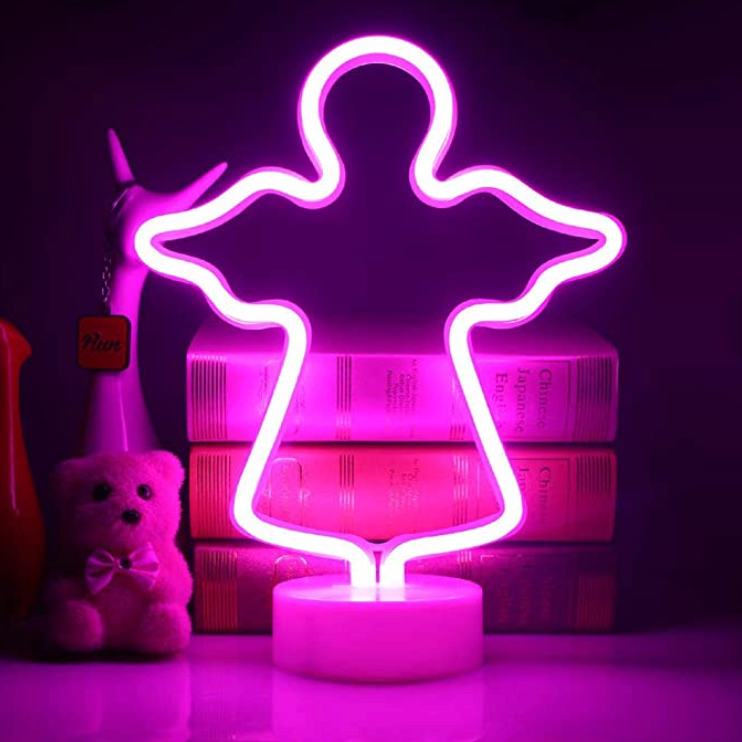Angel Neon LED Desk Light