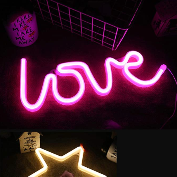 Pink Love Neon LED Wall Light