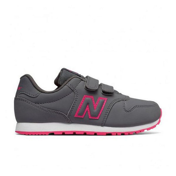 Children's Casual Trainers New Balance KV500PNY Grey Fuchsia