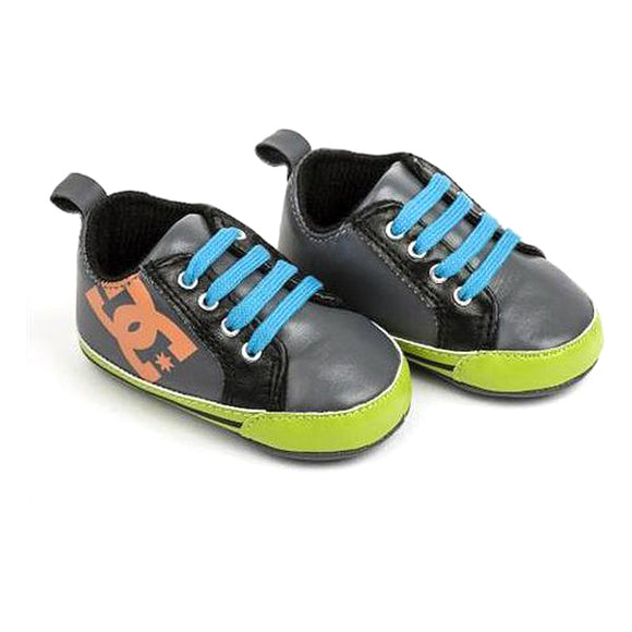 Baby's Sports Shoes Dc DOWN HILL Grey Green