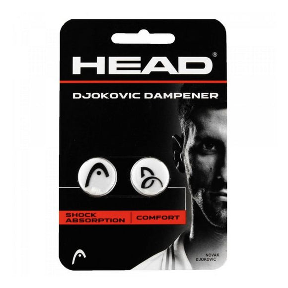 Vibration Dampener Head DJOKOVIC White