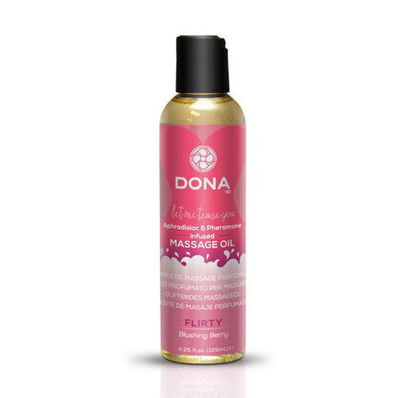 Scented Massage Oil Blushing Berry 110 ml Dona 5178