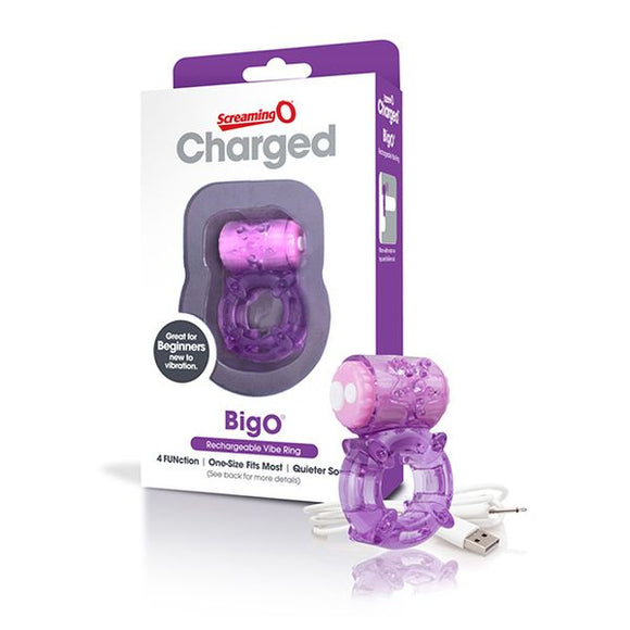Charged Big O Purple The Screaming O 13157
