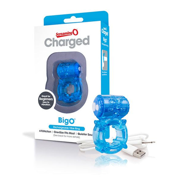 Charged Big O Blue The Screaming O 13164