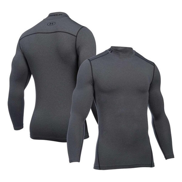 Men's Long Sleeved Compression T-shirt  Under Armour 1265648-090 Grey