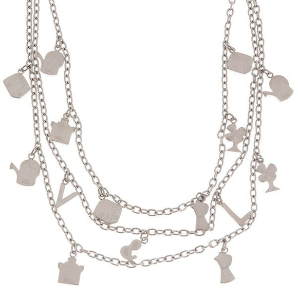Ladies' Necklace V&L VJ0255CO