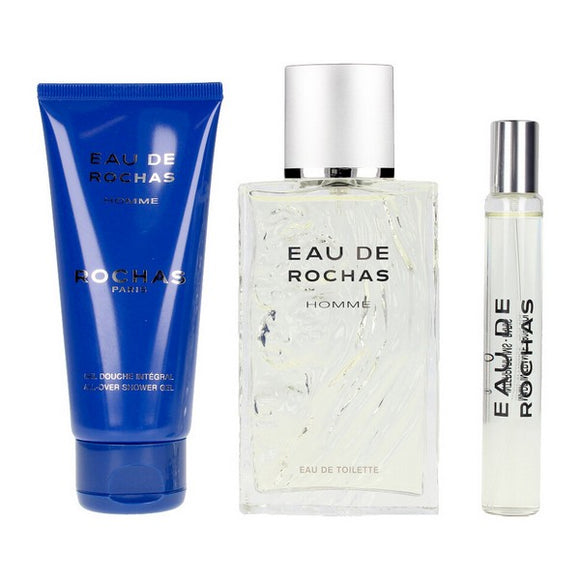 Men's Perfume Set Rochas EDT (3 pcs)