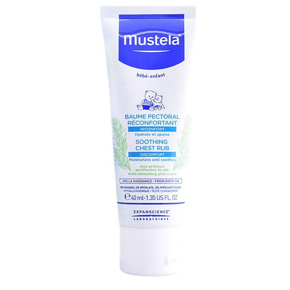Chest Rub for Babies Mustela (40 ml)