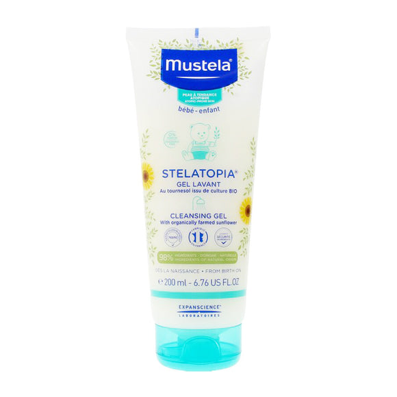 Bath Gel Stelatopia Mustela