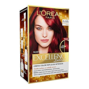 Permanent Dye Excellence Intense L'Oreal Expert Professionnel Intense scarlet red