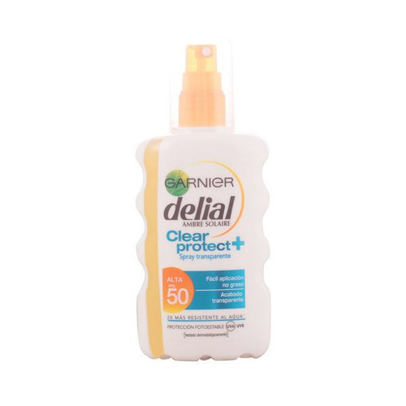 Spray Sun Protector Clear Protect Delial SPF 50+ (200 ml)