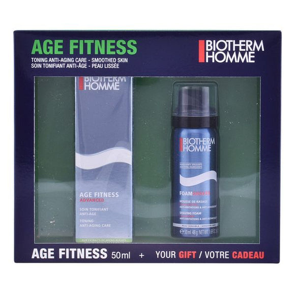 Shaving Set Homme Age Fitness Biotherm (2 pcs)