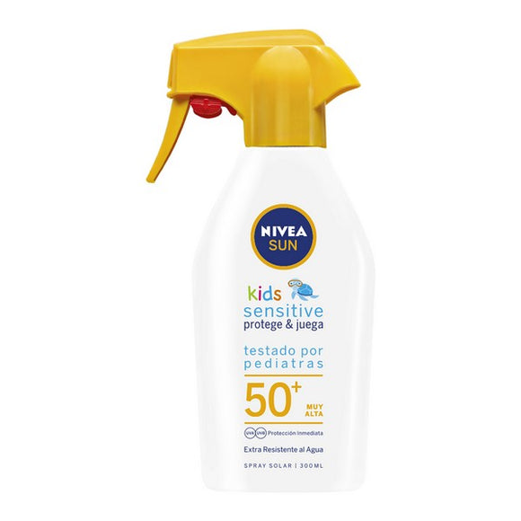 Spray Sun Protector Sensitive Kids Nivea (300 ml)