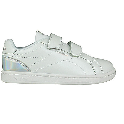 Children's Casual Trainers Reebok Royal Complete Clean Velcro White