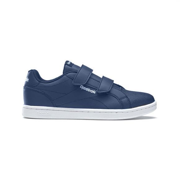 Children's Casual Trainers Reebok Royal Complete Clean Velcro Navy blue