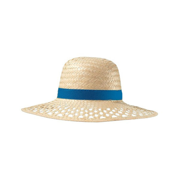 Wide-brimmed Straw Hat 148549