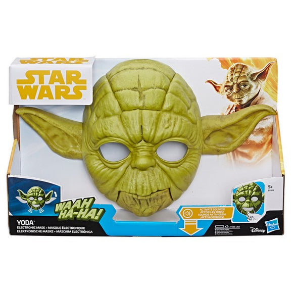 Star Wars - Yoda Electronic Mask Hasbro (Spanish)